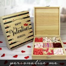 Wooden Valentines  Sweet Box